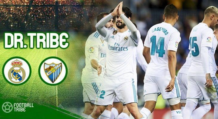 Dr Tribe: Isco tỏa sáng, Real Madrid dễ dàng đánh bại Malaga