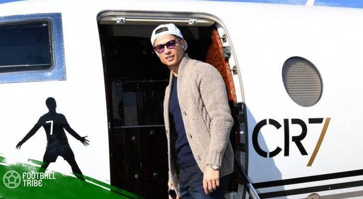 Điểm tin Real Madrid 10/04: Cristiano kiếm bộn tiền chỉ nhờ máy bay riêng