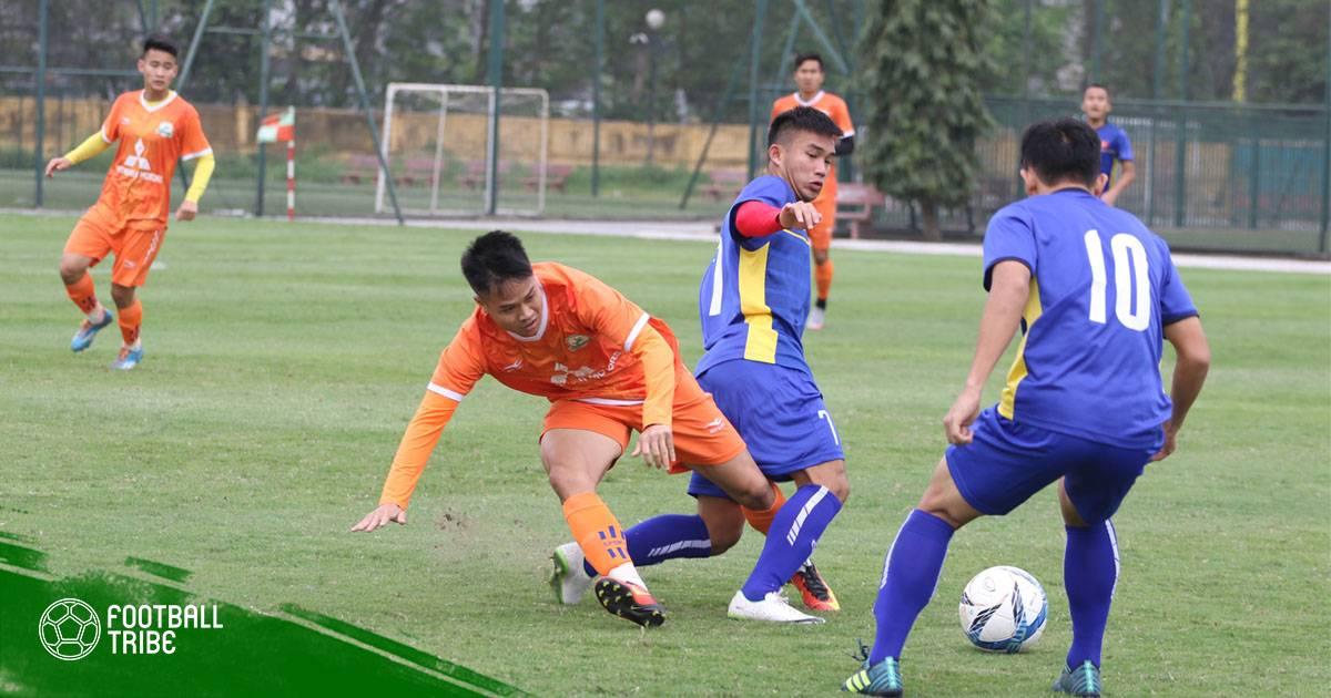 Chuyển động bóng đá Việt Nam ngày 19/4: U19 Việt Nam tạm đứng cuối JS Cup
