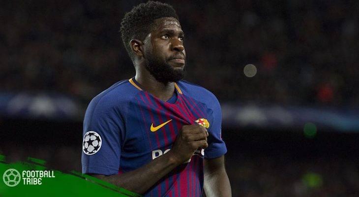 Điểm tin Barcelona: Đàm phán gia hạn với Umtiti bị đóng băng