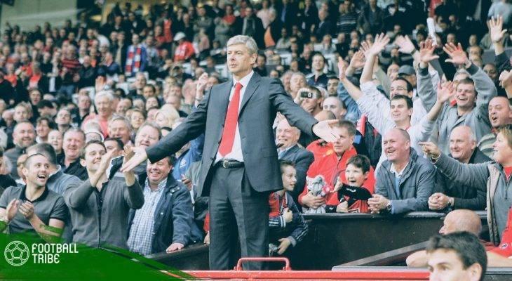 """Wenger đối đầu Man United: Những khoảnh khắc """"lên voi xuống chó"""" tại Old Trafford"""