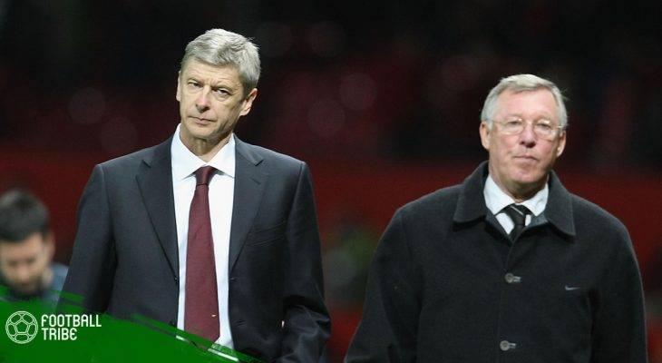 """Những màn """"đấu khẩu"""" giữa Arsene Wenger và HLV của Man United"""