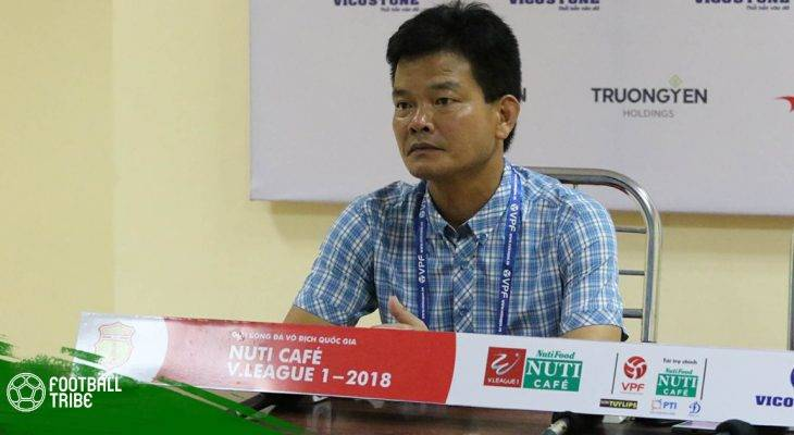 Huấn luyện viên Văn Sỹ: Nam Định sẽ có thay đổi nhân sự trên hàng công