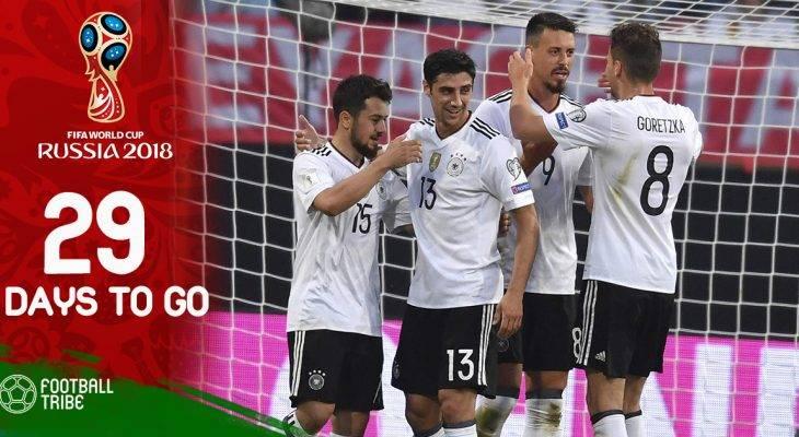 World Cup còn 29 ngày: Tuyển thủ Đức khóc vì không được tới Nga