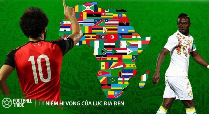 Đội hình All-Star châu Phi tại World Cup 2018: Song sát Salah, Mane