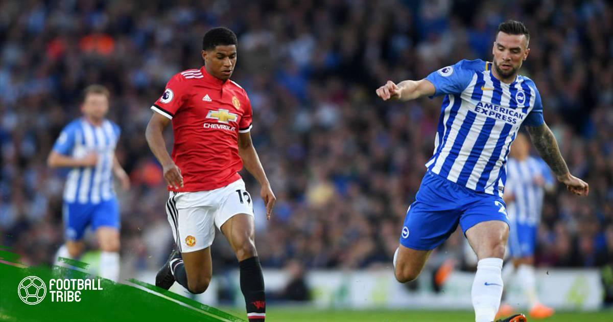 Brighton 1-0 Manchester United: Chủ nhà cán mốc 40 điểm