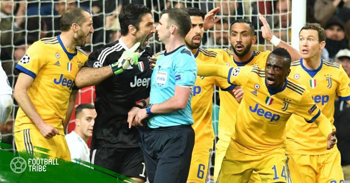 """UEFA chính thức trừng phạt Buffon vì """"hỗn"""" với trọng tài"""