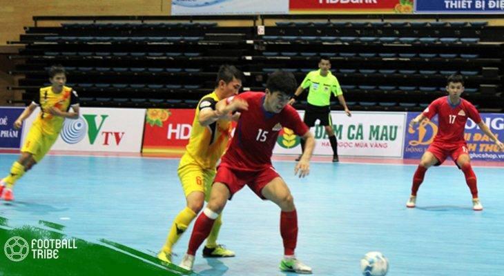 Vòng 6 Giải Futsal VĐQG 2018: Sài Gòn FC sảy chân, Sanatech thắng kịch tính