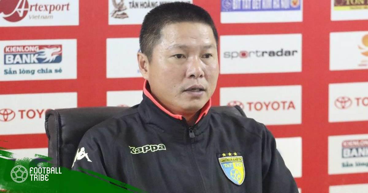 """HLV Chu Đình Nghiêm: """"Hà Nội FC biết rõ điểm yếu của Ceres Negros"""""""