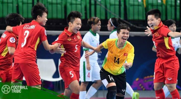 Chuyển động bóng đá Việt Nam ngày 10/5: ĐT Futsal nữ Việt Nam đấu Iran ở bán kết châu lục