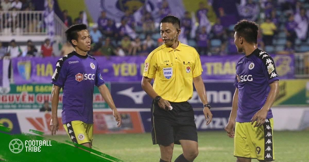 Hai trọng tài từ chối bắt trận lượt về Hà Nội – HAGL