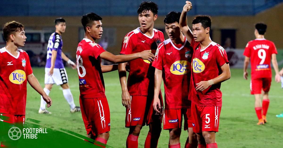 Chấm điểm cầu thủ HAGL trận gặp Hà Nội FC: Đáng khen hàng thủ!