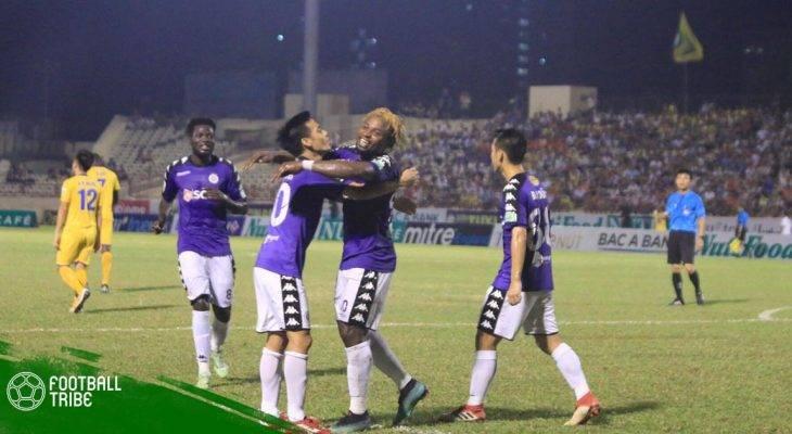 Hạ SLNA, Hà Nội khẳng định sức mạnh tại V.League