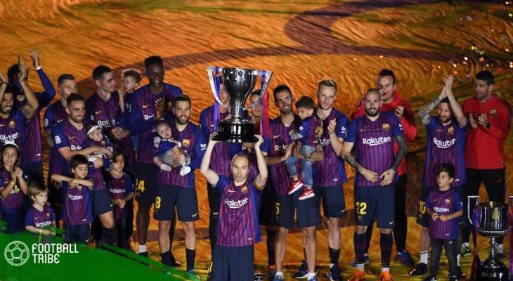 Dư âm Barcelona – Real Sociedad: Lời giã biệt của Iniesta