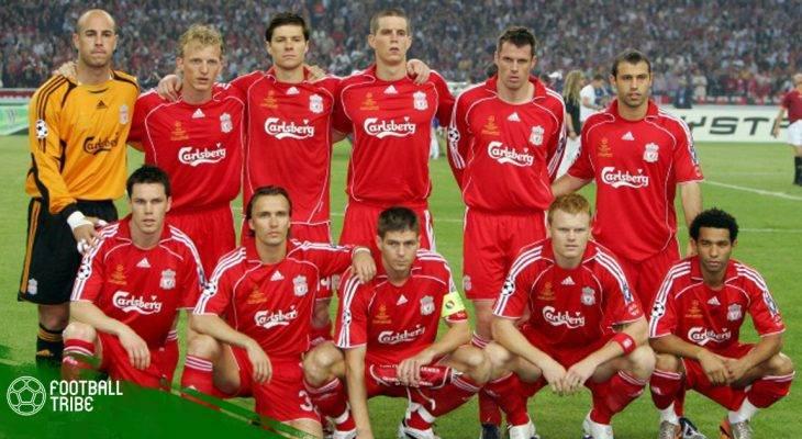 """Đội hình """"thần thánh"""" 2007 của Liverpool giờ ở đâu?"""