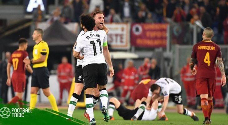 Những thống kê sau trận Bán kết lượt về CL giữa AS Roma và Liverpool