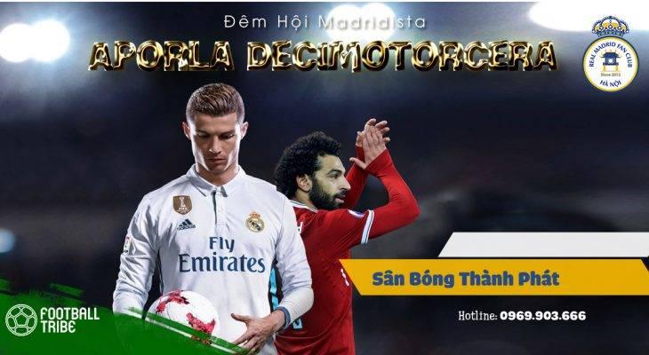 Football Tribe Vietnam đồng hành Big Offline Real Madrid FC Hà Nội