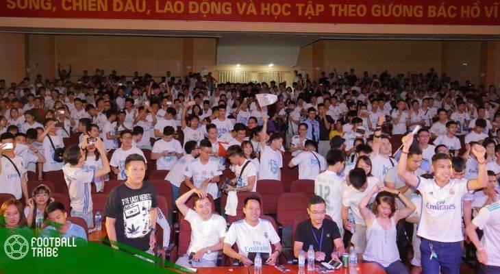 Điểm tin Real Madrid 29/05: Chúc mừng thành công Big Offline RMFC Hà Nội