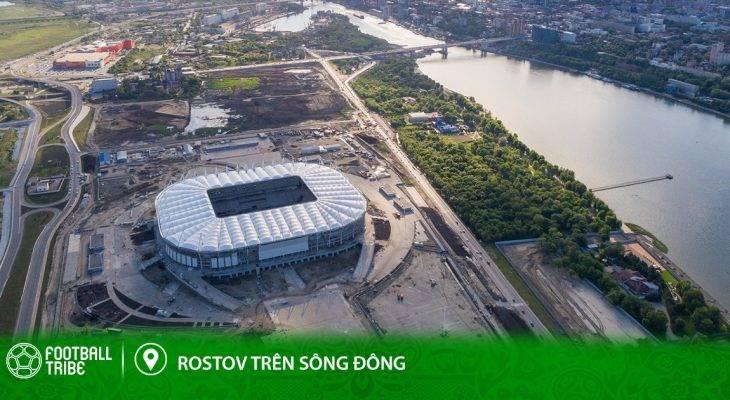 Điểm đến World Cup: Rostov trên sông Đông