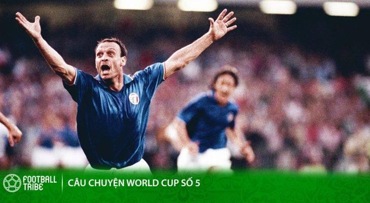 Salvatore Schillaci: Ánh sao băng giữa ngày Hè Italia 1990