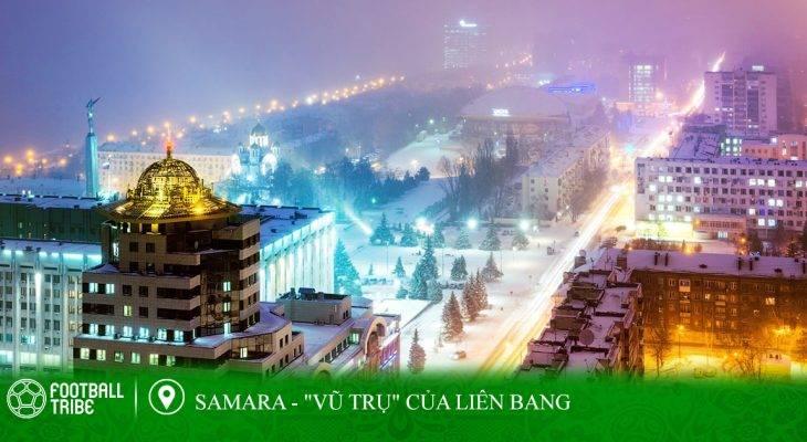 """Điểm đến World Cup: Samara – """"Vũ trụ"""" của nước Nga"""