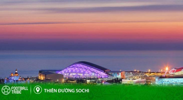 Điểm đến World Cup: Sochi – Thiên đường du lịch số một nước Nga