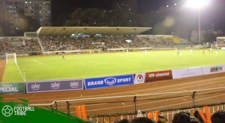 Sân Thống Nhất thay mặt cỏ tiền tỷ chờ U23 Việt Nam