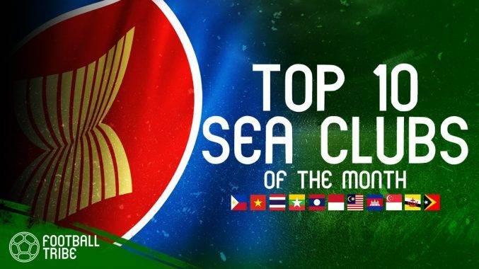 10 CLB xuất sắc nhất Đông Nam Á tháng 4/2018: Hà Nội FC sát cánh cùng Buriram