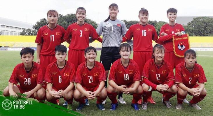 Chuyển động bóng đá Việt Nam ngày 4/5: U16 nữ Việt Nam thắng trận đầu