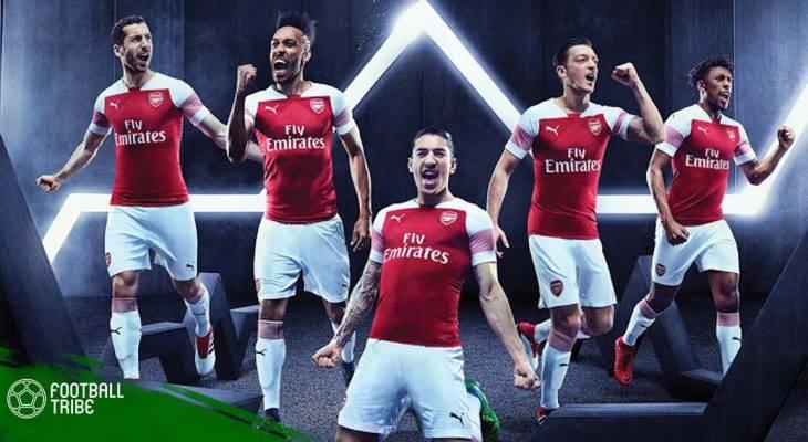 Arsenal ra mắt trang phục mới chào đón tân HLV