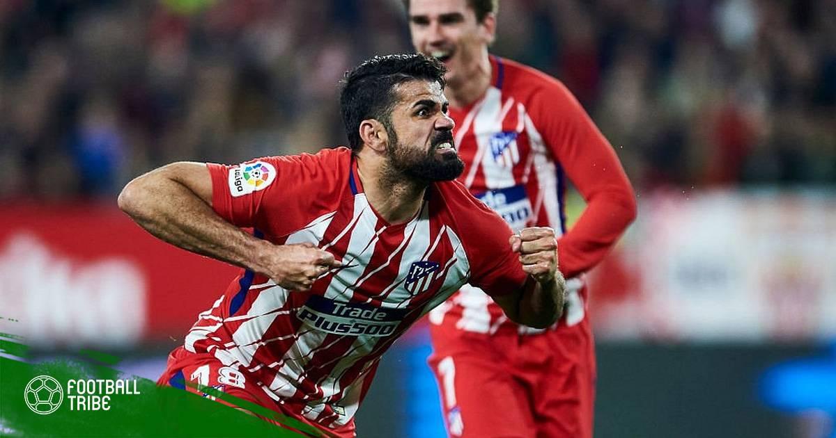 Diego Costa quay về số áo may mắn tại Atletico Madrid