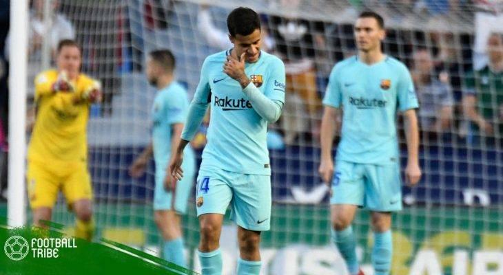 Dư âm Levante 5-4 Barcelona: Tan tành giấc mơ bất bại!