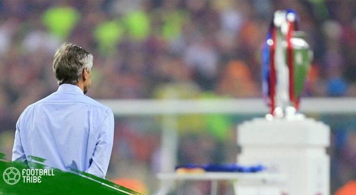 Arsene Wenger và giấc mơ châu Âu dang dở