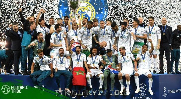 """Real Madrid """"dậy sóng"""" sau chiến tích vĩ đại"""