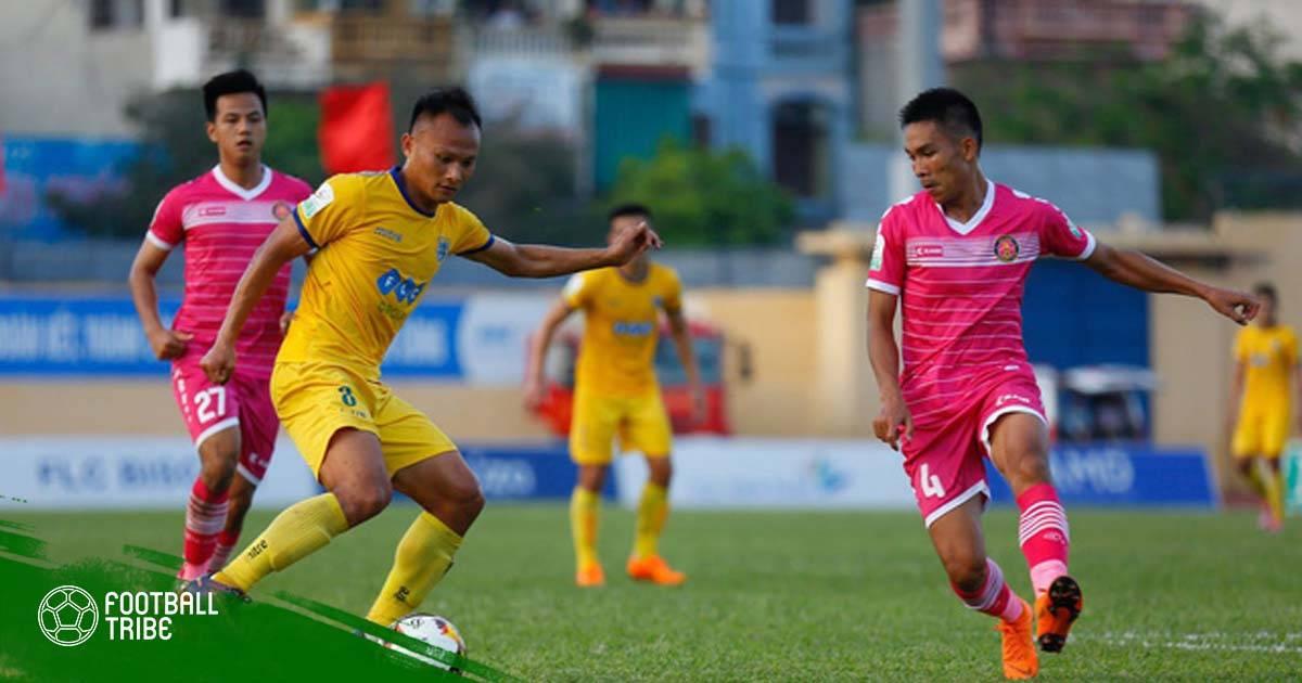 Đình Tùng tỏa sáng, FLC Thanh Hóa thắng tối thiểu Sài Gòn
