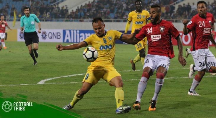 Vòng 14 V.League| Bùi Tiến Dũng ra sân, FLC Thanh Hóa thắng trận thứ hai liên tiếp
