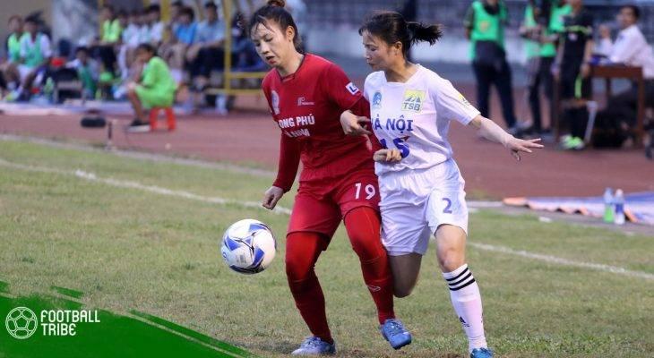 Khởi tranh Giải bóng đá nữ VĐQG 2018: Chủ nhà Hà Nam thất bại