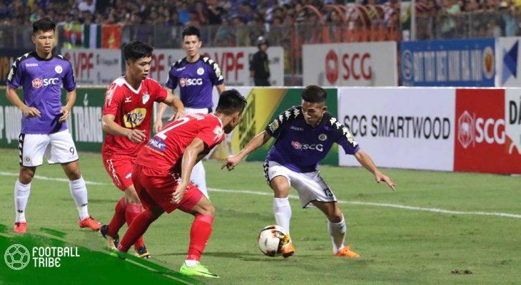 Những điểm nhấn sau trận đấu giữa Hà Nội và HAGL