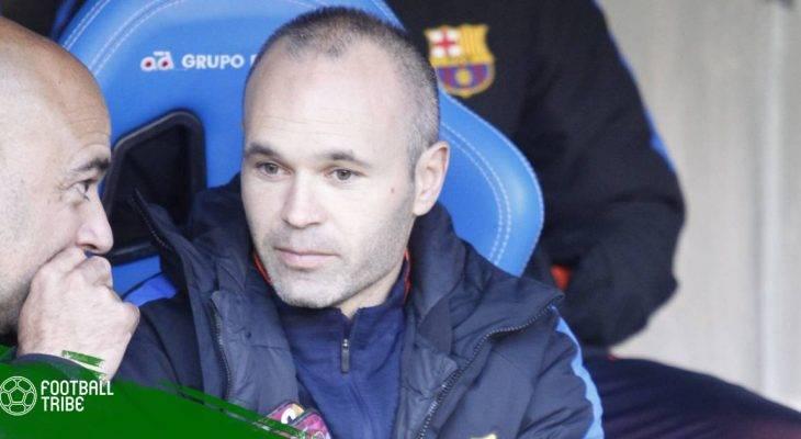 """Lộ chi tiết hợp đồng """"không thể chối từ"""" dành cho Iniesta tại Trung Quốc"""