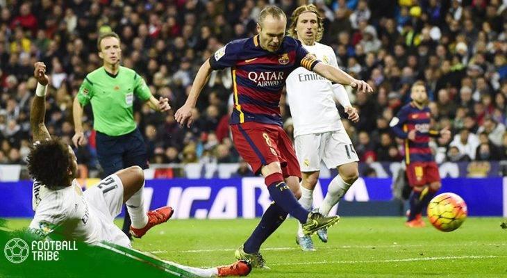 Những trận El Clasico đáng nhớ trong sự nghiệp của Andres Iniesta