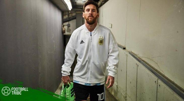 """Chiêm ngưỡng giày """"độc"""" của Lionel Messi tại World Cup 2018"""