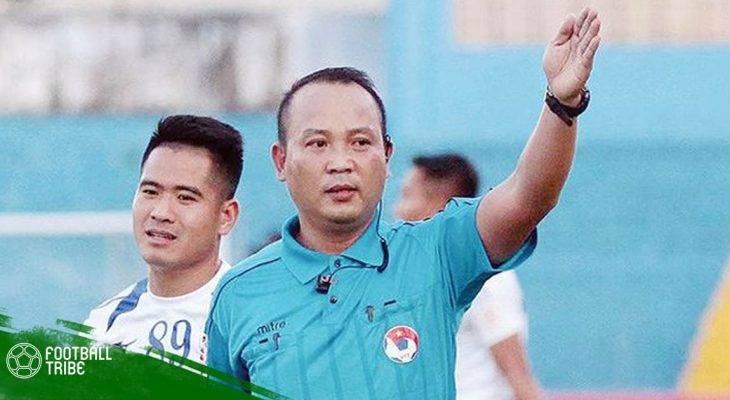 Những cú phốt của trọng tài Nguyễn Văn Kiên