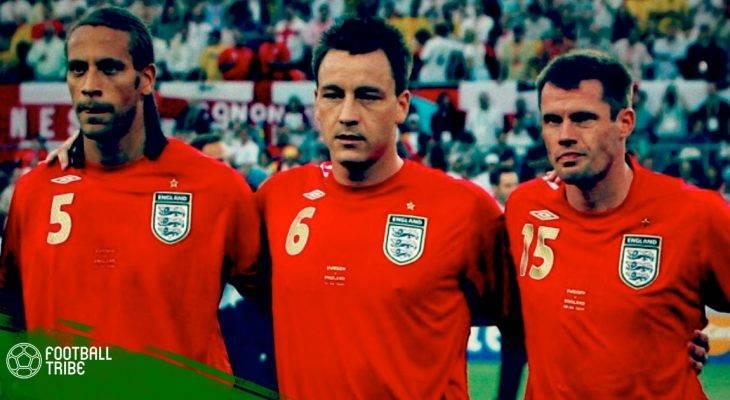 """Rio Ferdinand và nỗi tiếc nuối """"thế hệ Vàng"""" bóng đá Anh"""