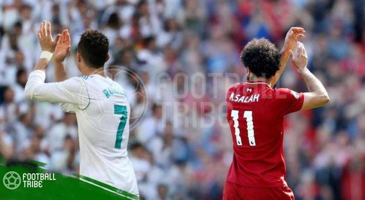Cristiano Ronaldo – Mohamed Salah: Kẻ tám lạng, người nửa cân