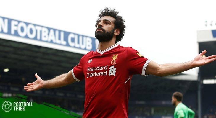 Mohamed Salah tạo dáng với chính… khuôn mặt mình