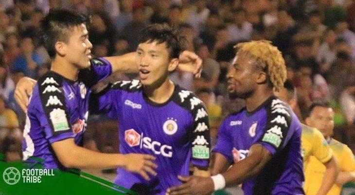 Điểm nhấn vòng 12 V.League: Không thể cản Hà Nội FC