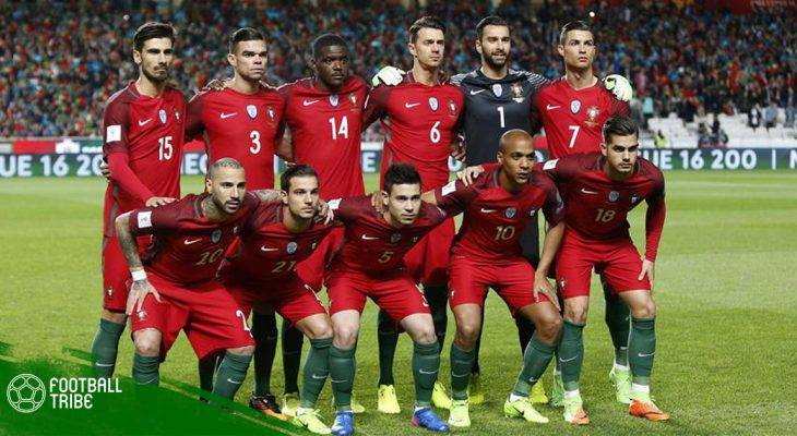 Bồ Đào Nha công bố danh sách sơ bộ dự World Cup 2018