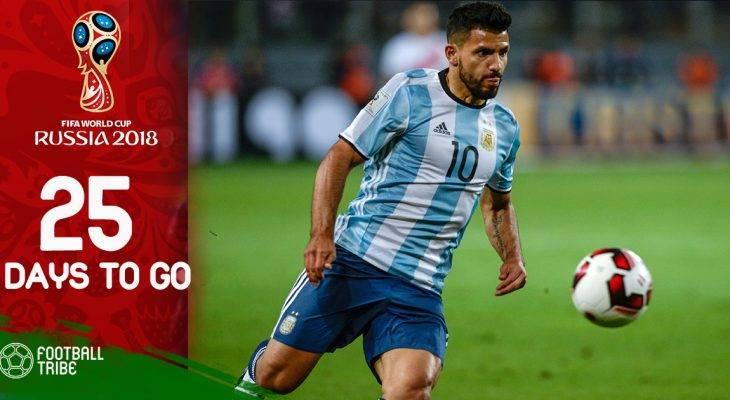 World Cup còn 25 ngày: Aguero trở lại, tin vui từ bản quyền truyền hình