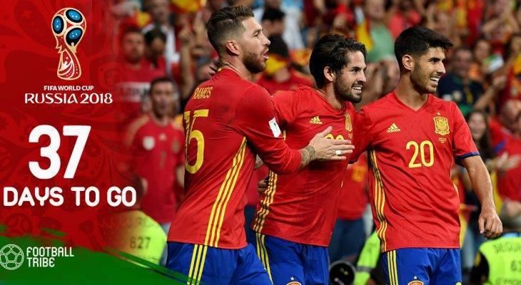 World Cup 2018 còn 37 ngày: ĐT Tây Ban Nha bị ảnh hưởng bởi Real Madrid