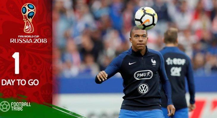 World Cup 2018 còn 01 ngày: Mbappe trấn an người hâm mộ